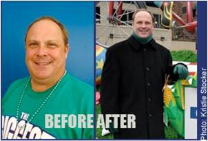 Steve Anderson Before and After